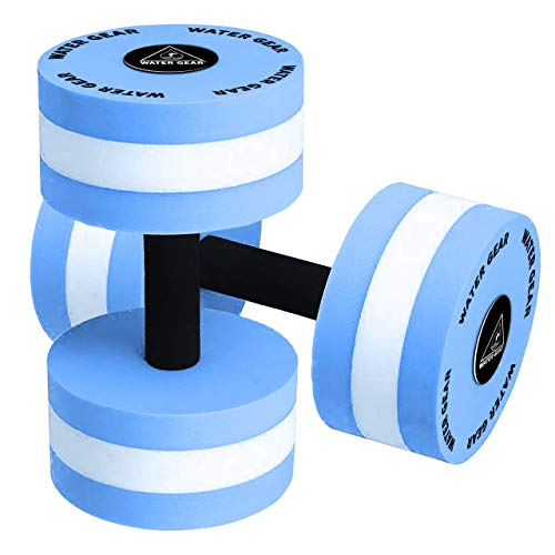 Water Gear Hydro Buoys Minimum - Water Fitness and Pool Exercise - Intense Workout Without Added Stress - Easy on Joints (80% resistance)
