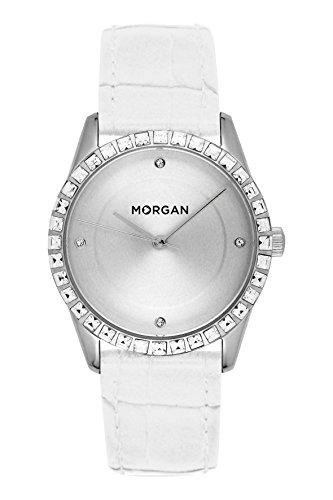MORGAN Reloj Fecha Standard para Mujer de Cuarzo con Correa en PU MG 005S-BB