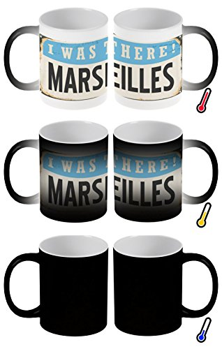 Mug Magique Retro Marseille France imprimées