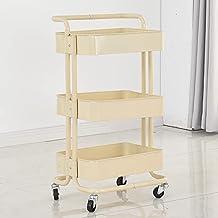 Mode Trolley, Multifunctionele Vloerplank, Beweegbare Katrol, Geschikt Voor Opslag Van Babyproducten in De Keuken, Slaapka...