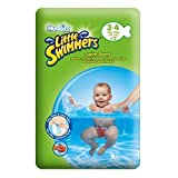 Product Image of the Huggies Little Swimmers Disposable Swim Diapers, Small, 12-Count - Pink/Blue