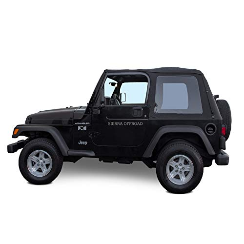 Sierra Offroad Soft Top Replacement for Jeep...