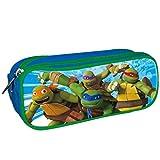 L&R SHOES Las Tortugas Ninja, Estuche portatodo con Doble - Sintético para: NIÑO color: AZUL...