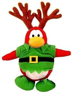 Disney Club Penguin Santa Christmas Plush