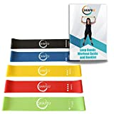 SHAPEU Resistance Loop Band Set - Includes 5 Exercise Loop Bands with Carrying...