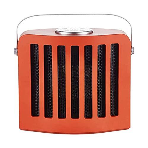 DWJ Calentador de Ventilador Portátil Cerámica eléctrica Ajustable Temporizador de calefacción silencioso for el hogar Dormitorio Oficina Uso de Uso Interior Dormitorio del Garaje