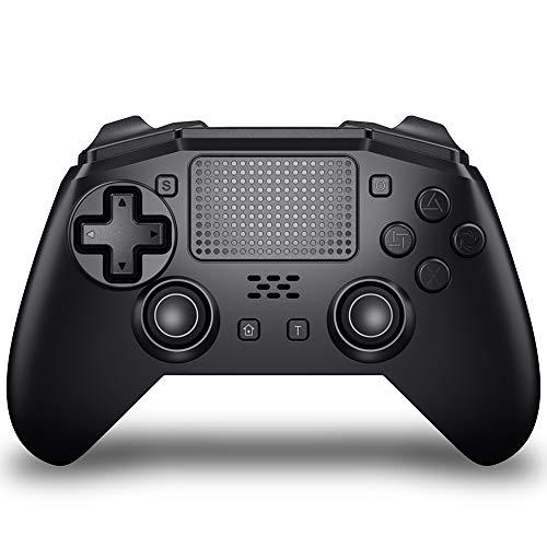 ALIENGT Wireless Controller für PS4 Controller für Playstation 4 Bluetooth Gamepad Dual Shock 4 mit Joystick Turbo 6-Achsen Gyrosko 3,5 mm Kopfhöreranschluss kompatibel für PS4/PS4 Silm/PS4 Pro/PS3