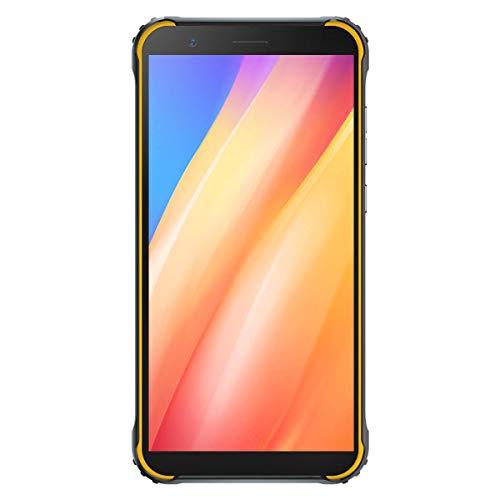 Cellulare robusto, Blackview BV4900 Pro Android 10, 5,7  HD +, 4 GB + 64 GB, telefono con batteria da 5580 mAh, smartphone 4G impermeabile IP68, 13 MP + 5 MP, doppia SIM, GPS, NFC, OTG- Giallo