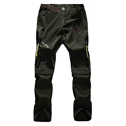 N\P Pantalones de verano para hombre, pantalones de hombre, pantalones deportivos para hombre - verde - 7X-Large