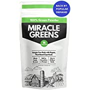 Organic Super Greens Powder (150g) | Updated Formulae - A Blend of 16 Superfoods from Fruit and Vegetables | Researched and Tested | UK Made Super Greens for Nutrition, to Boost Energy and Detox