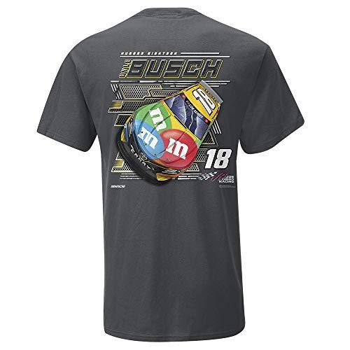 SMI Herren Kyle Busch #18 Steel Thunder Tee Kurzarm Kyle Busch #18 Steel Thunder Tee XL Teamfarbe