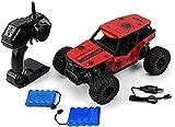 WZLJW 1:16 Off-Road Rock Vehículo Escalador Camión 25 KM/H Vehículo Off-Road 2.4GHz Escalada Coche 500 mAh Vehículo de Campo Cruz Juguete de Control Remoto Modelo de Alta Velocidad Racing Coches ggsm