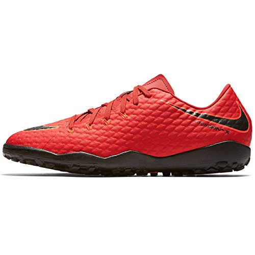 Nike Herren Hypervenomx Phelon III TF Fußballschuhe, Rot (Universität Rot/Schwarz-Helles Karmesinrot 616), 46 EU