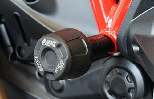 GSG-Mototechnik Sturzpads Ducati Monster 1200 / S / Monster 821 Paar schwarz eloxiert