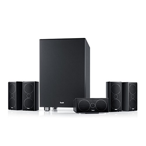 Teufel Consono 35 Mk3 5.1-Kanal 150W Schwarz Lautsprecherset (5.1 Kanäle, 150 W, Universal, 2-Wege, 60 W, 160 W)