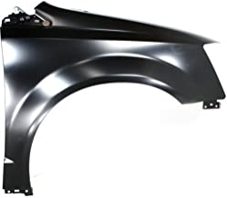 Front Fender Compatible with 2008-2016 Chrysler Town & Country/2008-2019 Dodge Grand Caravan Steel CAPA Passenger Side
