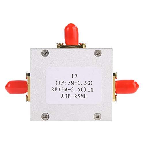 Mezclador balanceado ADE-25MH, mezclador pasivo de diodo mezclador pasivo de bajo ruido lineal alto Mezclador balanceado doble para PCS, MMDS, ISM