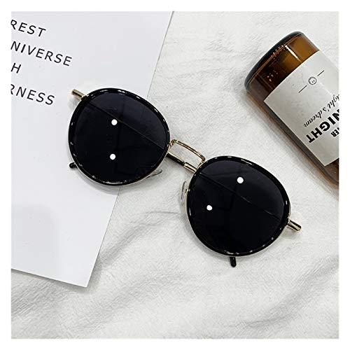 SSN Gafas De Moda Retro Gafas De Sol Redondas Mujer Gafas De Sol Coreano Fotografía Chaleco Coreano Red De Naranja Gafas De Sol