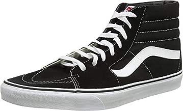 Vans SK8-Hi¿ Core Classics, Black (Black/Black/White), 6 Women / 4.5 Men M US
