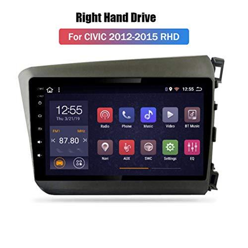 HP CAMP Android 9.1 8 Core Autoradio für Honda Accord 7 2003-2007, Supporta la Fotocamera di Backup/Microfono/CarPlay/DSP/Bluetooth 5.0 / SWC/mappe Offline Online,4g WiFi 4g+64g