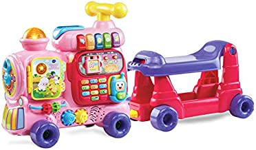 VTech Sit-To-Stand Ultimate Alphabet Train (Frustration Free Packaging), Pink, Great Gift For Kids, Toddlers, Toy for Boys and Girls, Ages 1, 2, 3