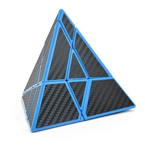 HJXDtech - Nueva Estructura Pyraminx Cube Speed Magic Cube 3x3 Pyramid Puzzle Cube (Pirámide Fantasma)