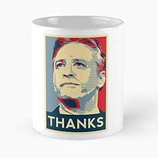 Jon Stewart Daily Show Comedy Hope - Best Gift Ceramic Coffee Mugs 11 Oz