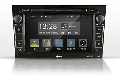 Radical R-C10OP2 für Opel Corsa D, Astra H, Zafira B | Bluetooth | DVD | USB | CanBus | Lenkrad-Fernbedienung | 2-DIN Autoradio