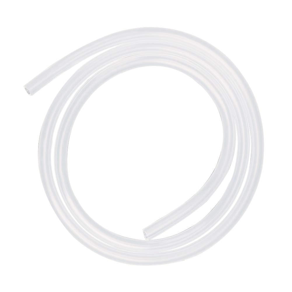 Hooshing Silicone Tubing 5mm ID x 7mm OD 10 Ft Food Grade Flexible Pure Silicone Rubber Tubing Hose High Temp for Home Brewing Winemaking Pump Transfer
