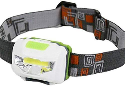 Linterna frontal mini con 3 modos, impermeable, LED, para exteriores, con cinta para la cabeza