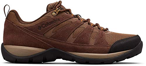 Columbia Redmond V2, Zapatillas de Senderismo para Hombre, Marrón (Saddle/Canyon Gold 269), 40.5 EU