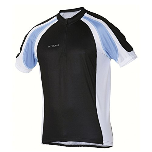 Stanno Cycling Trikot Herren - Sky Blue - Black - White Gr.XL