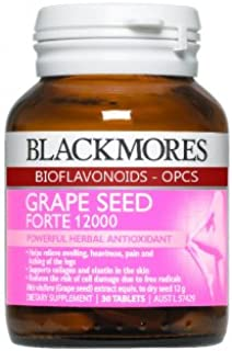 Blackmores Grape Seed Forte 12000 Product of Thailand
