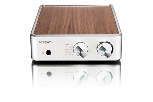 PS Audio Sprout Complete HiFi Home DAC Amp, High End Audio from Vinyl, Analog, Digital (Walnut)