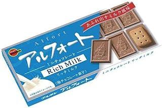 ブルボン アルフォート ミニチョコレート リッチミルク 12個×10箱入×(2ケース)