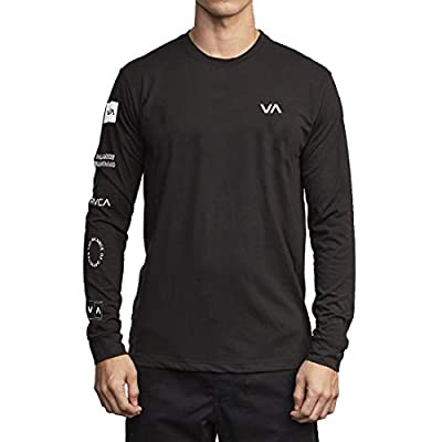 RVCA Sport All Out Rvca Long Sleeve Top Black Medium from RVCA