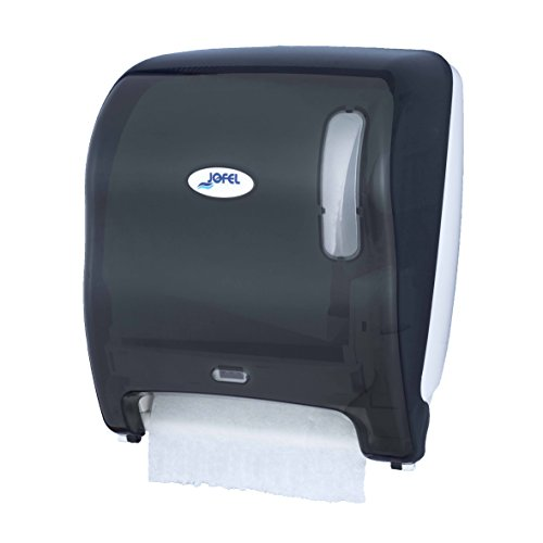 Toilettenpapierhalter Großrollen Jofel ag18500azur Automatische, kontinuierliche Papier Spender, Basic, Batterien und Netzwerk, fumé