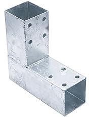 Connex HV4246 paalhoek, 200 x 185 mm, voor 71 x 71 mm hout