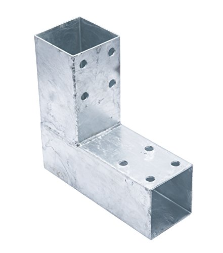 Connex HV4246 Pfostenecke, 200 x 185 mm, für 71 x 71 mm Holz