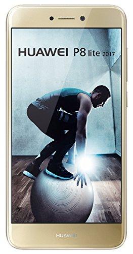 "Huawei P8 Lite 2017 Dual SIM 4G 16GB Gold - smartphones (13.2 cm (5.2""), 16 GB, 12 MP, Android, 7.0, EMUI 5.0, Gold)"