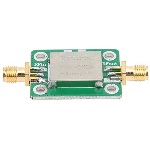 Módulo amplificador RF, Amplificador Rf de alta ganancia y bajo ruido, Receptores de amplificador de banda ancha de señal de radio FM, 50-400MHZ, Amplificador LNA