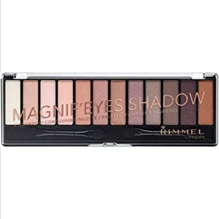 rimmel london magnif'eyes shadow contouring palette 002 Nudes Calling