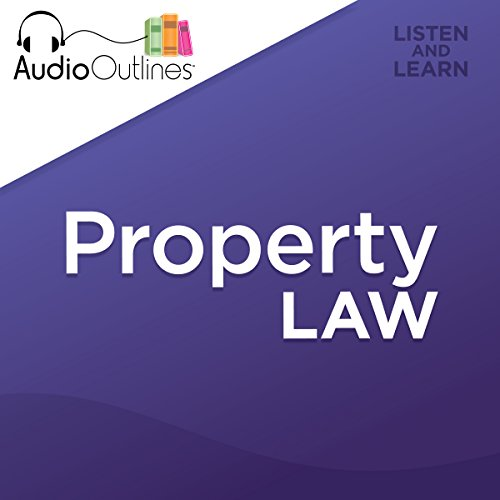 Property Law audiobook cover art