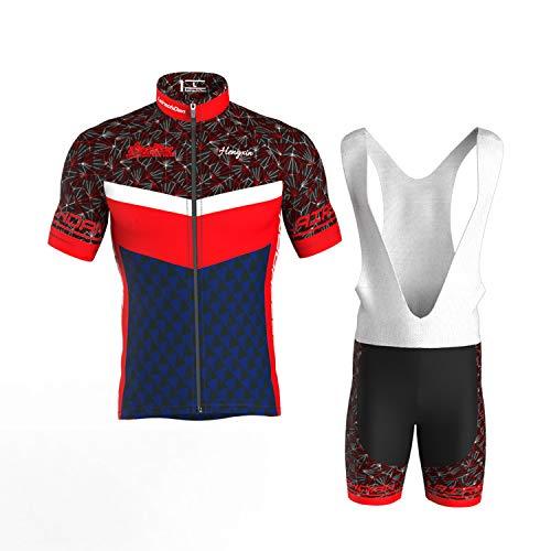COMEIN Maillot Ciclismo Corto De Verano para Hombre, Ropa Culote Conjunto Traje...