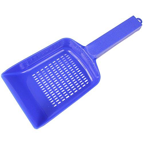 milopon pala de plástico tamiz raspador para Acuario residuos de limpieza jardín azul