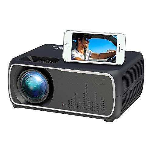 Top-configuratie Mobile screen-projector met high-end draagbare Smart Android Wireless WIFI Startpagina Beamer voor games, films kijken, Theater van het Huis Video Projector