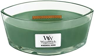 WoodWick Windowsill Herbs Hearthwick Ellipse Candle, 16 oz.