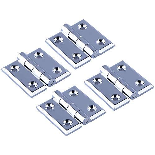 XFentech Bisagras Plegables - 4 Piezas Bisagras de Puerta con Bisagras para...