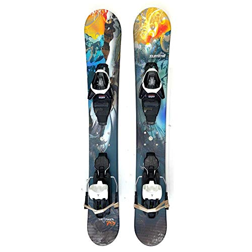 Summit Easy Rider 79cm Skiboards Easy Skis Snowblades with Atomic