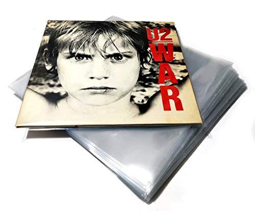 """LinusRecords - (lot de 100) Pochettes de protection pour Disques Vinyles 12"""" - LP 33 tours (top deluxe 130 micron)"""